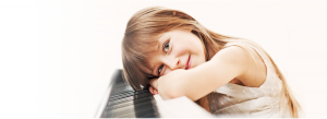 Girl with Piano
